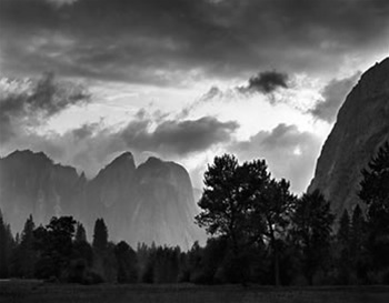 black white photographers represented by the ansel adams gallery