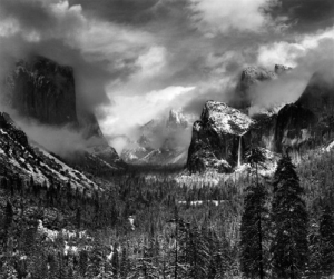 Clearing Winter Storm by Ansel Adams