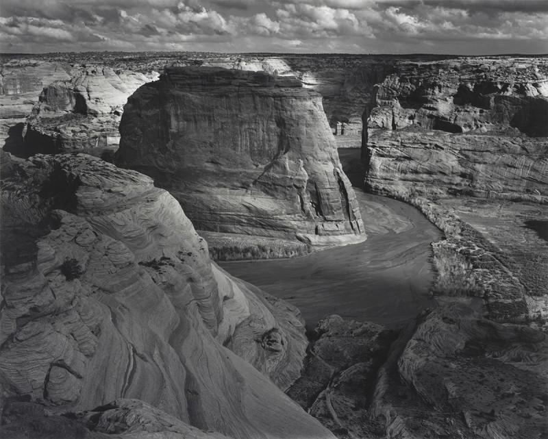 Canyon de Chelly from White House Overlook, Canyon de Chelly National Monument, Arizona, 1942.