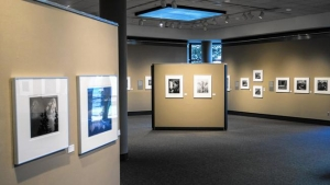 Original photographs taken by Ansel Adams on display at South Shore Arts in Munster. (Jim Karczewski / Post-Tribune)
